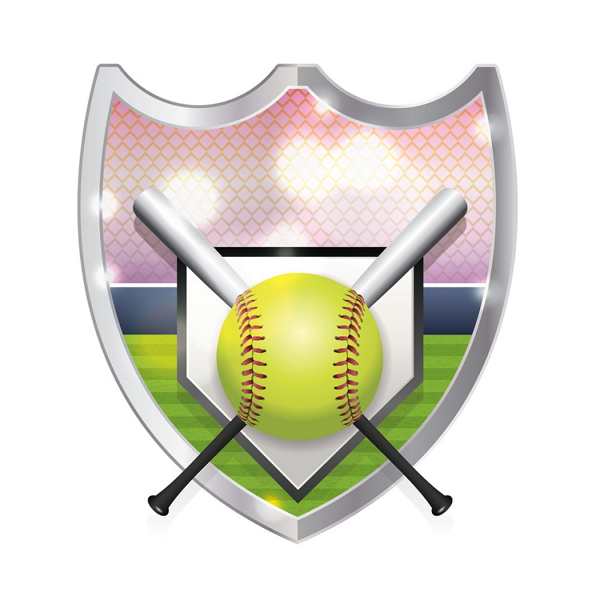 softball badge
