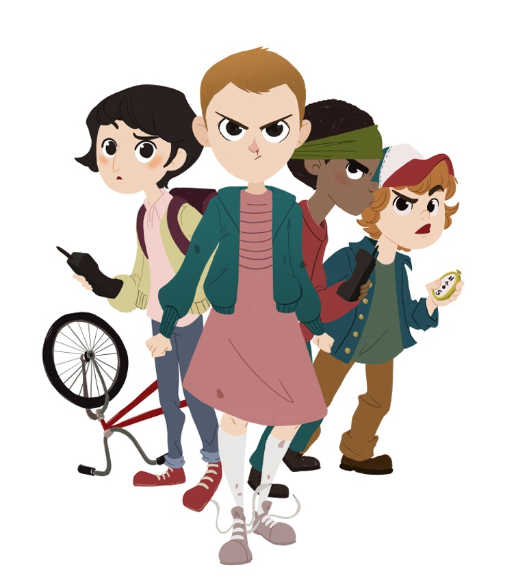 stranger things group
