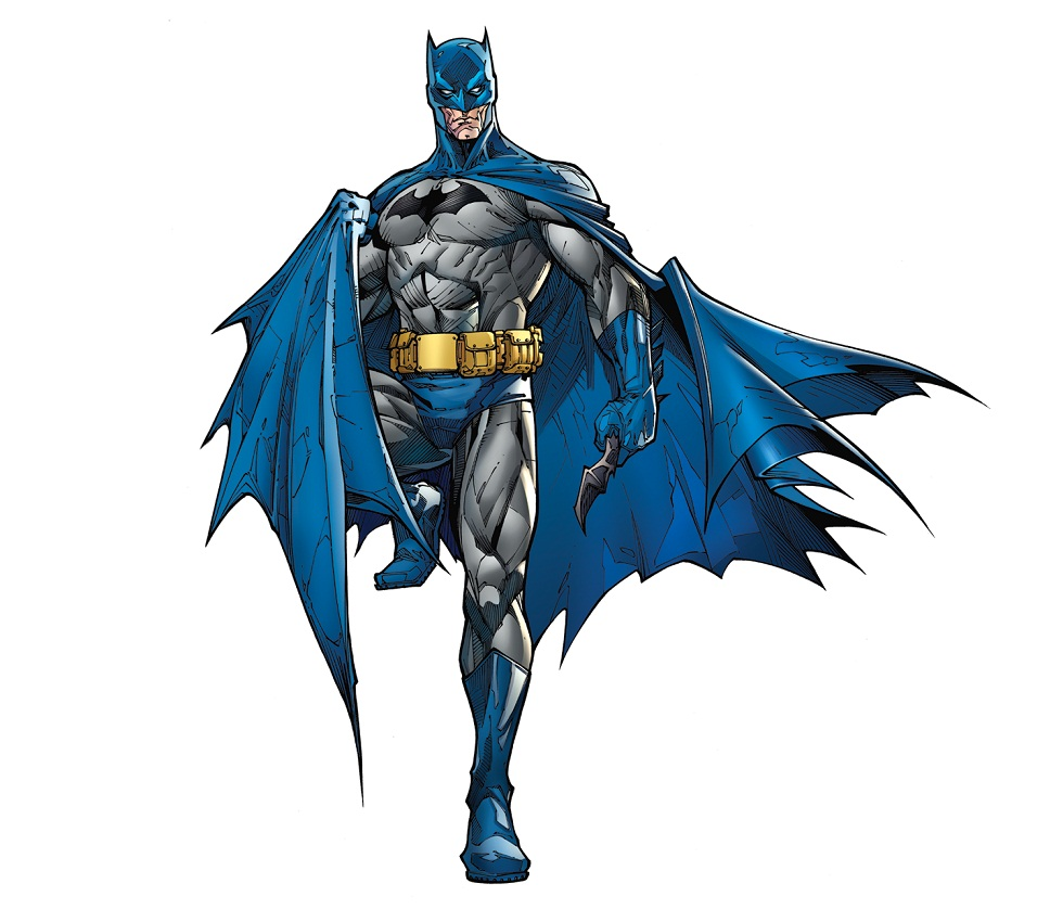 strong batman with batarang