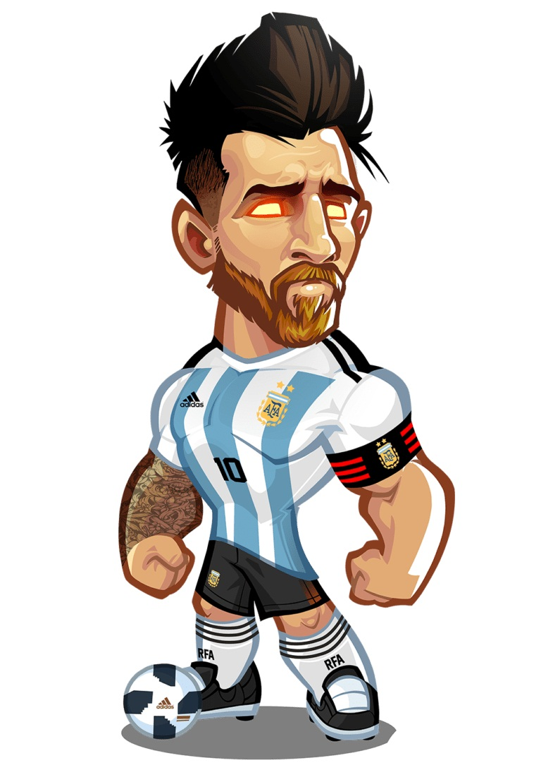 strong lionel messi