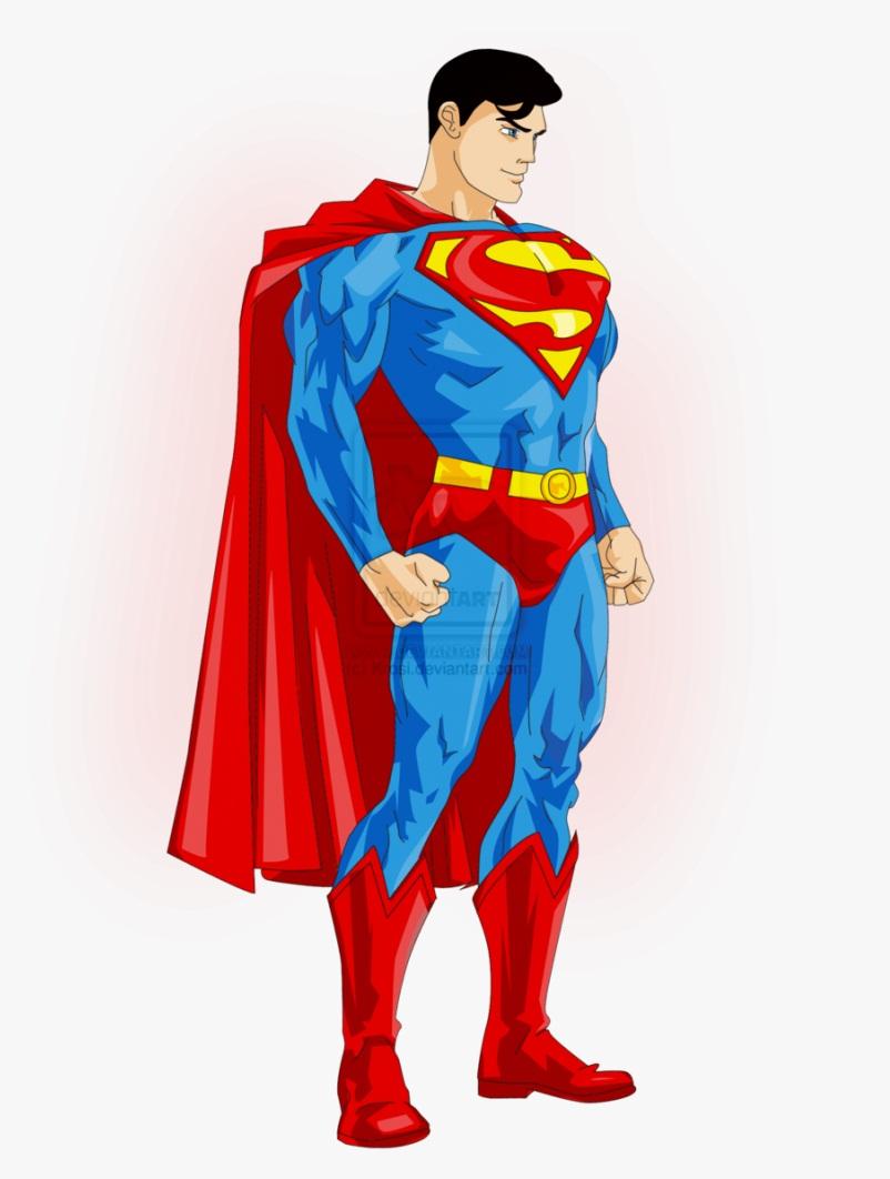 superman standing
