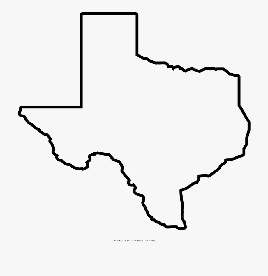 texas outline 3