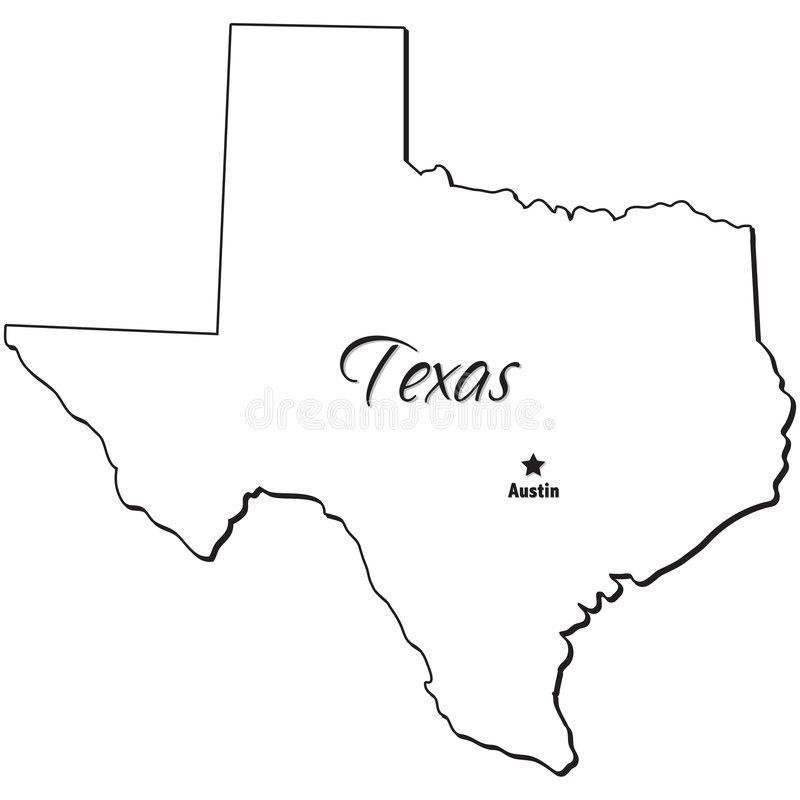 texas outline 4
