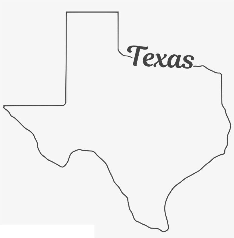 texas outline 9