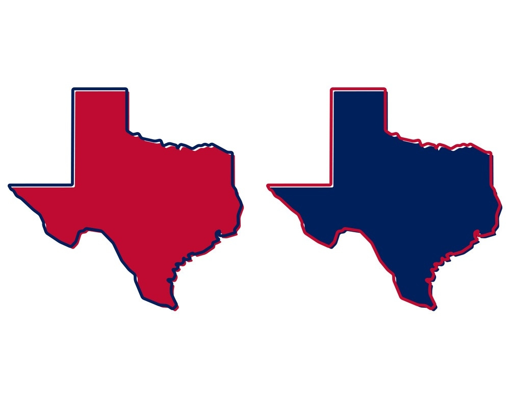 texas outline fill and stroke