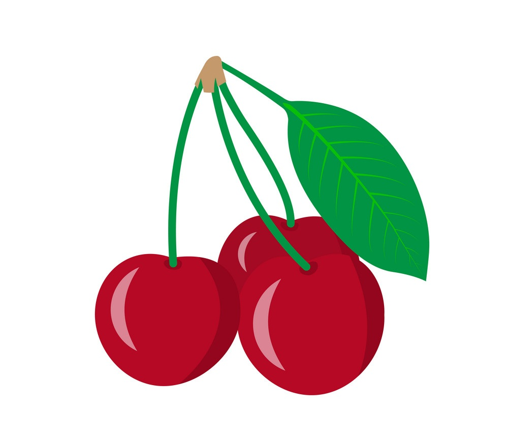 three cherries fruit