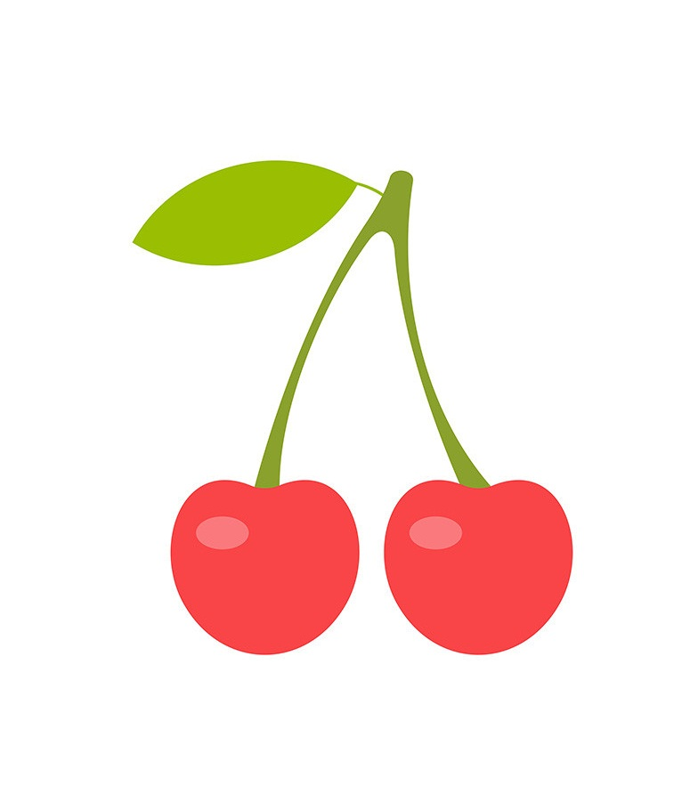 two cherries icon