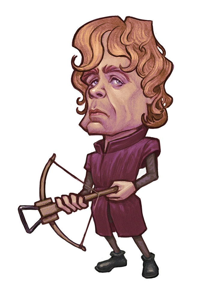 tyrion lannister with crossbow