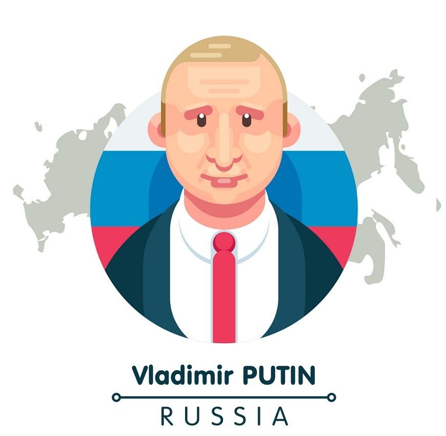 Vladimir Putin Clipart
