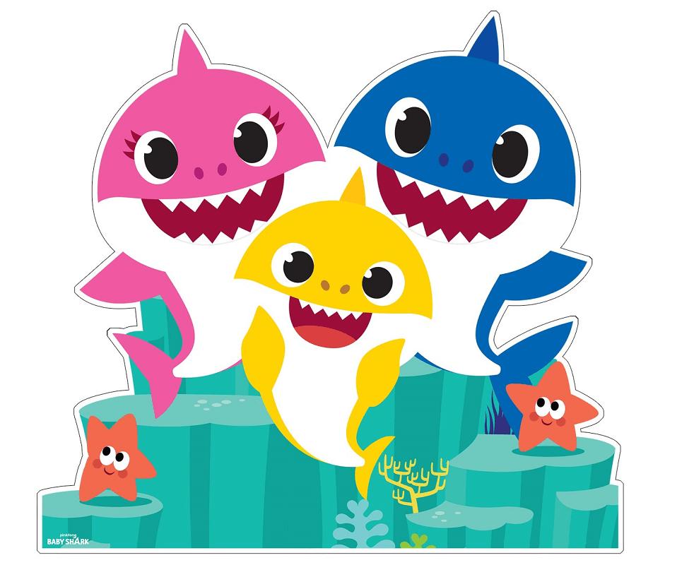 Baby Shark Family clipart