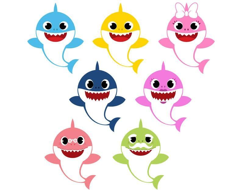 Baby Shark clipart image