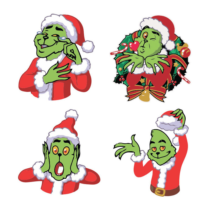 Grinch clipart 3