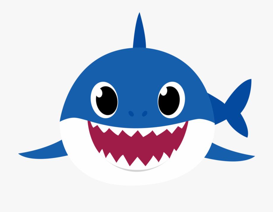 Happy Baby Shark clipart