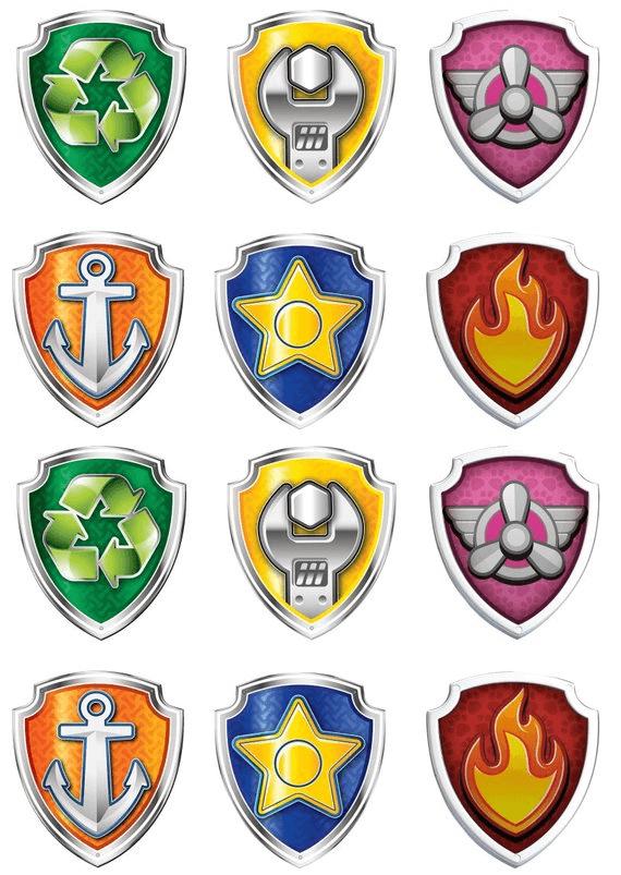 Paw Patrol Badge clipart 1