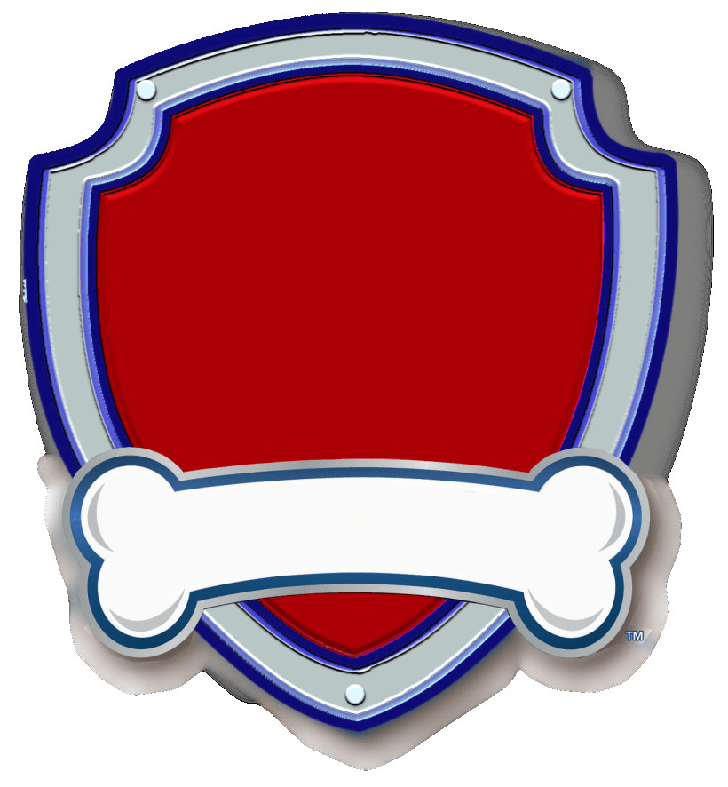 Paw Patrol Badge clipart
