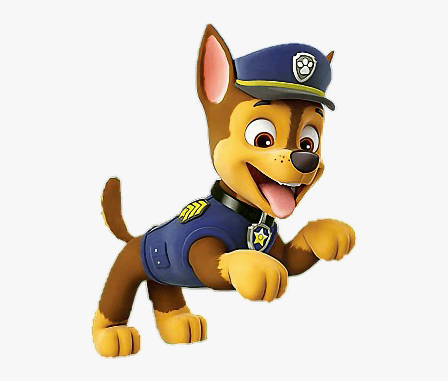 Paw Patrol Chase clipart free