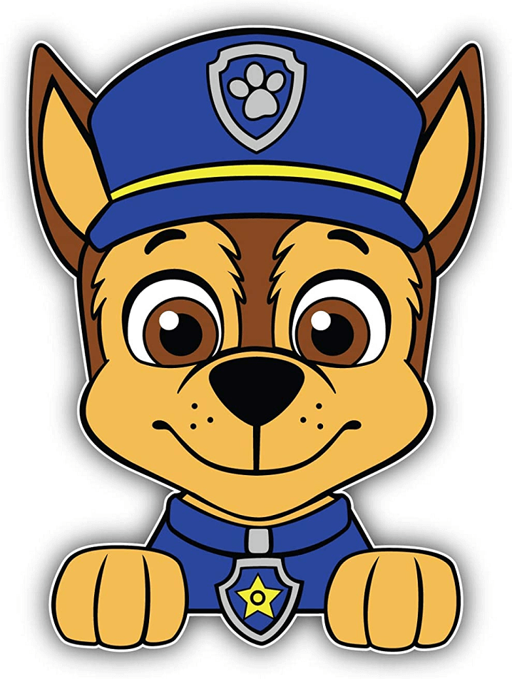 Paw Patrol Chase clipart png