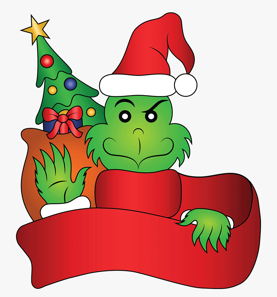 Simple Grinch clipart
