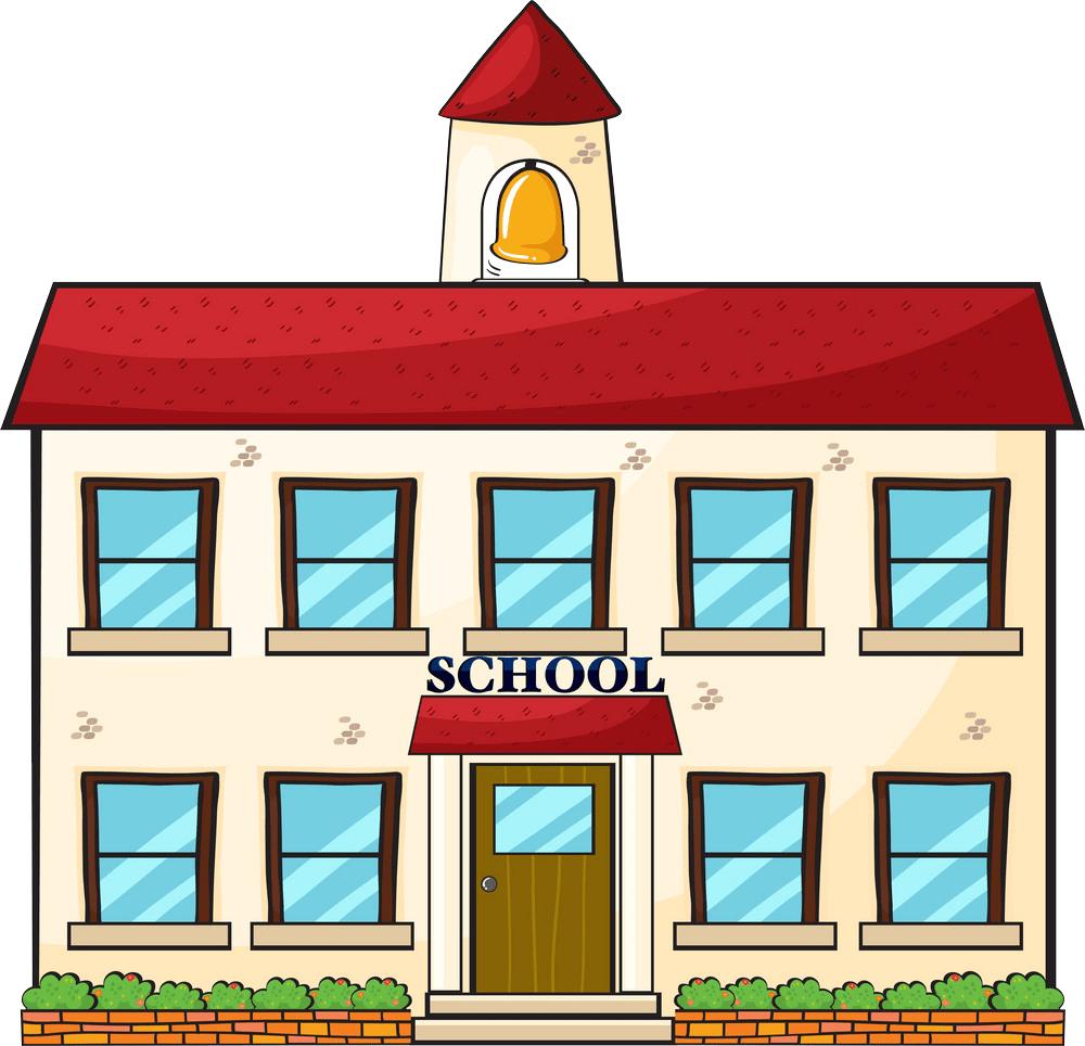 a school building png