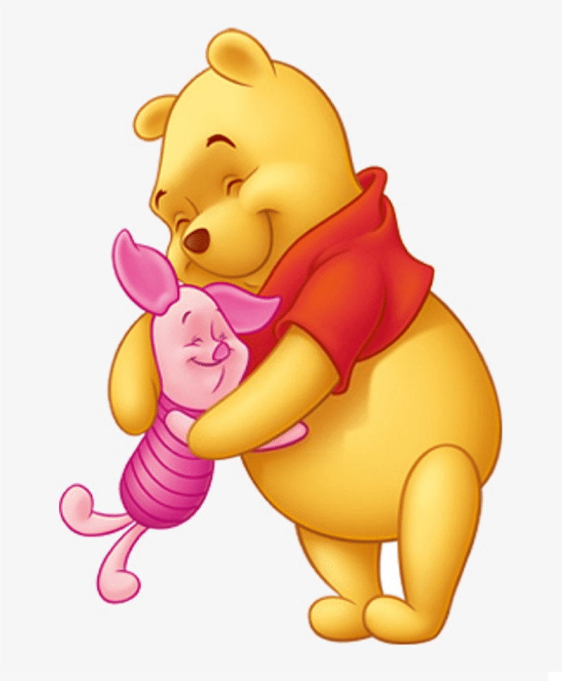 adorable pooh and piglet png
