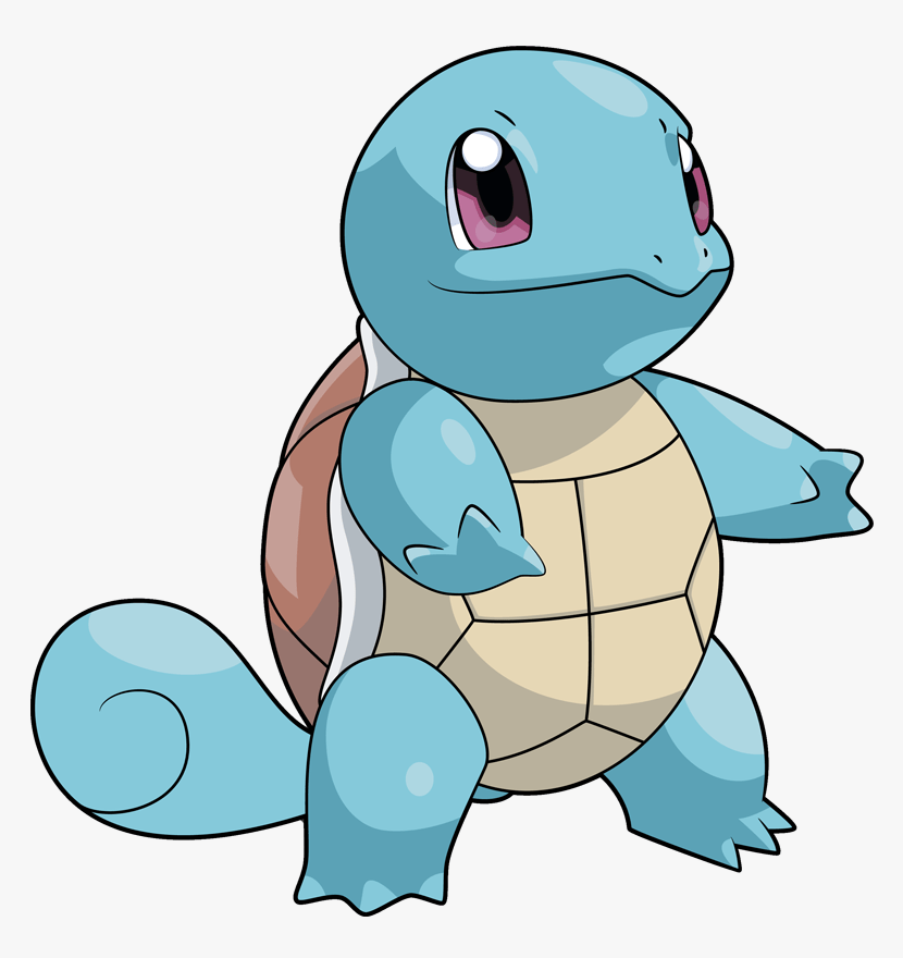 adorable squirtle pokemon png