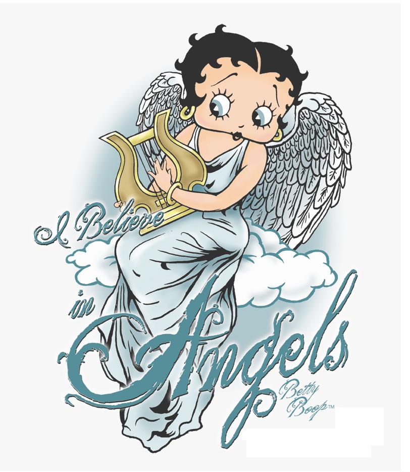 angel betty boop png