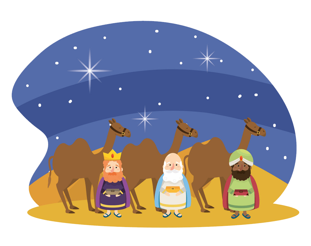 animated christmas nativity scene transparent