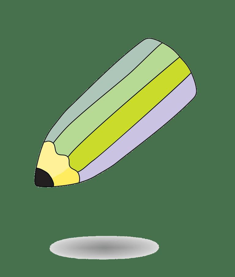 animated short pencil png transparent