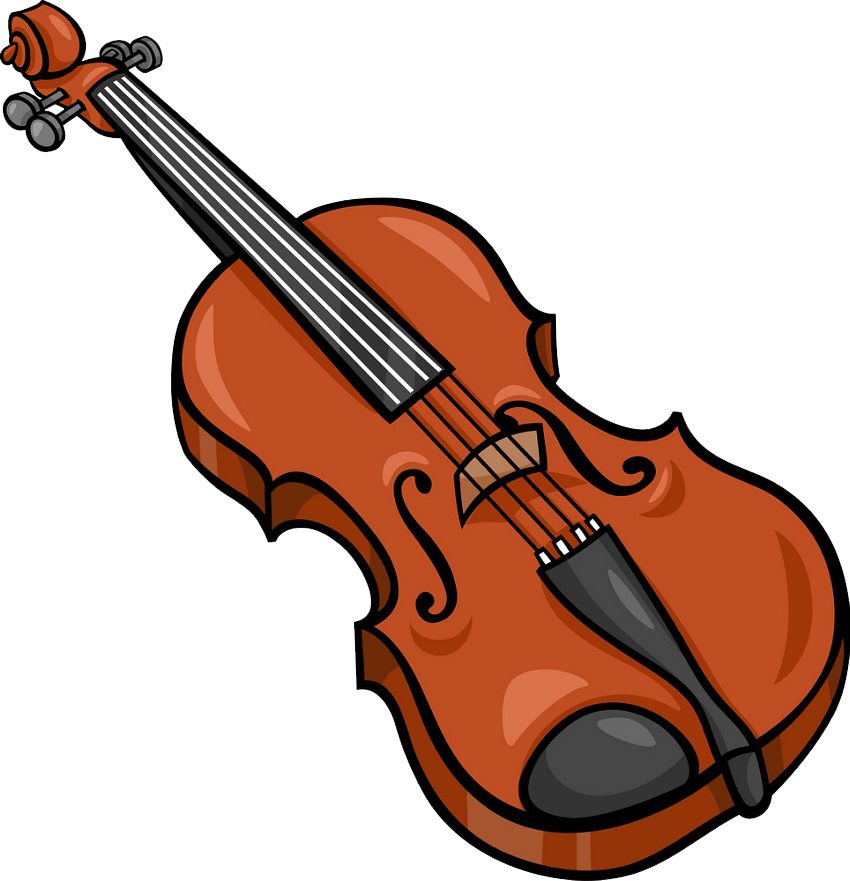 animated violin png transparent