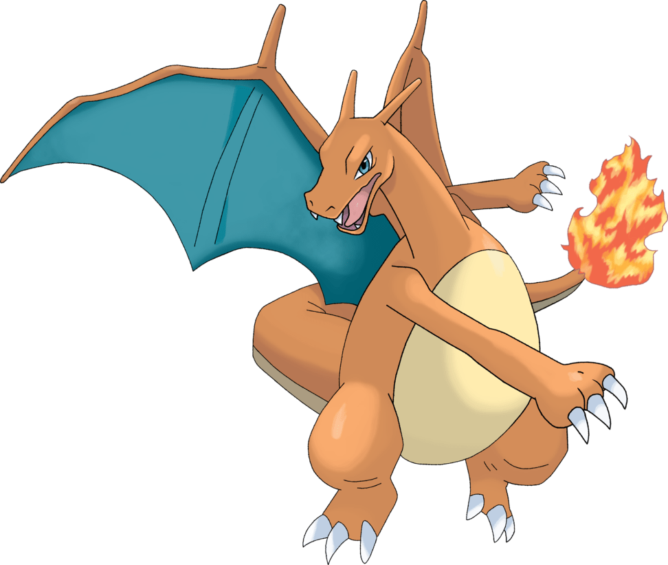awesome charizard transparent
