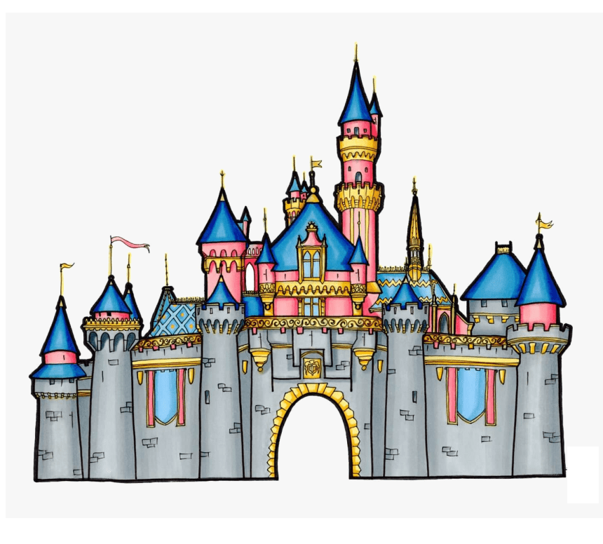 awesome disney castle png