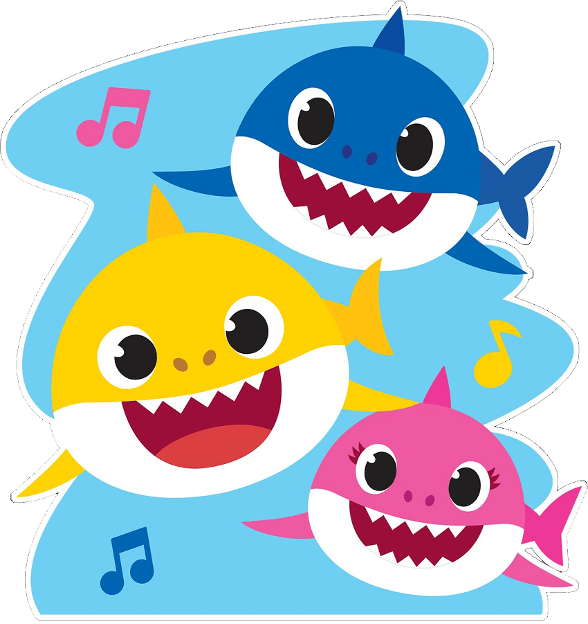 baby shark png transparent