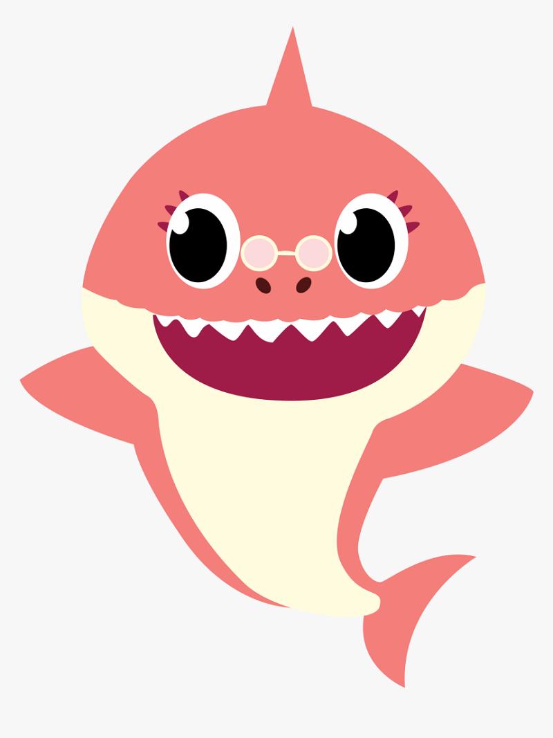 bella grandma shark png