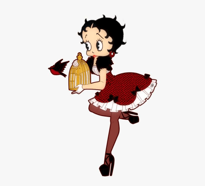 betty boop release the bird png