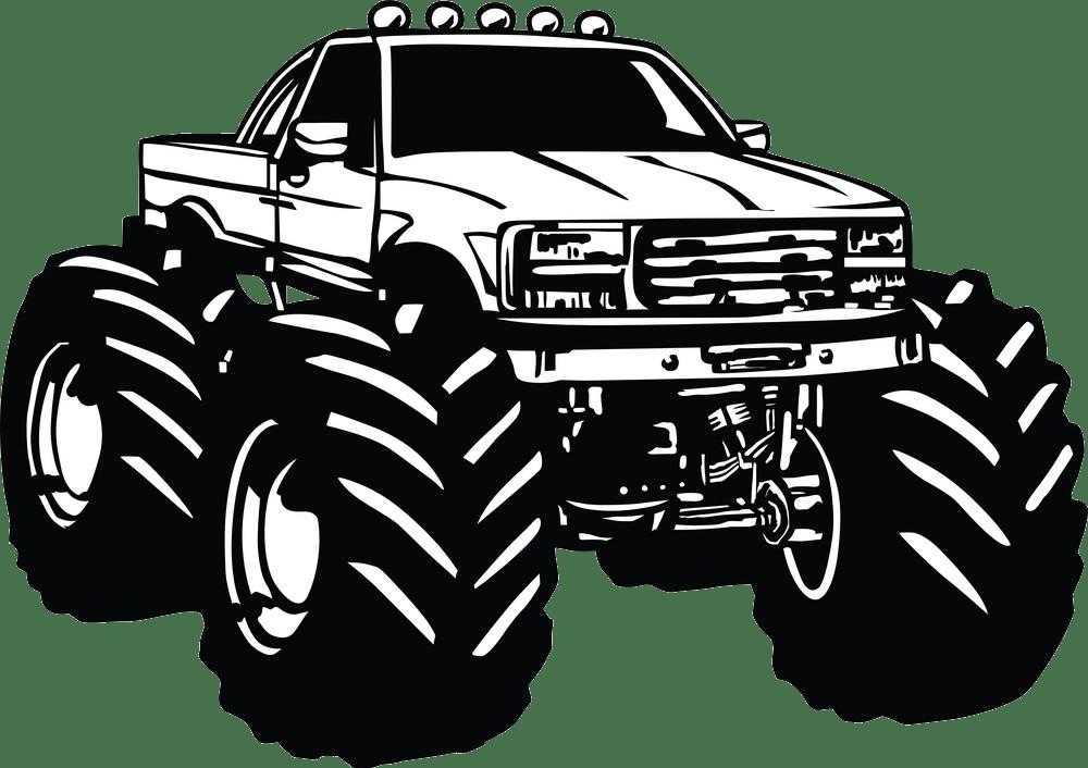 Monster Truck Clipart Clipart World