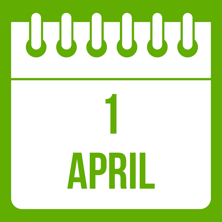 calendar april 1 icon green png