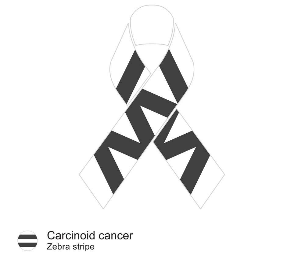 carcinoid cancer ribbon png