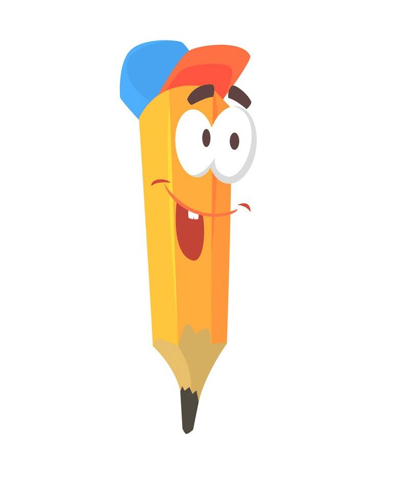 cartoon funny pencil png