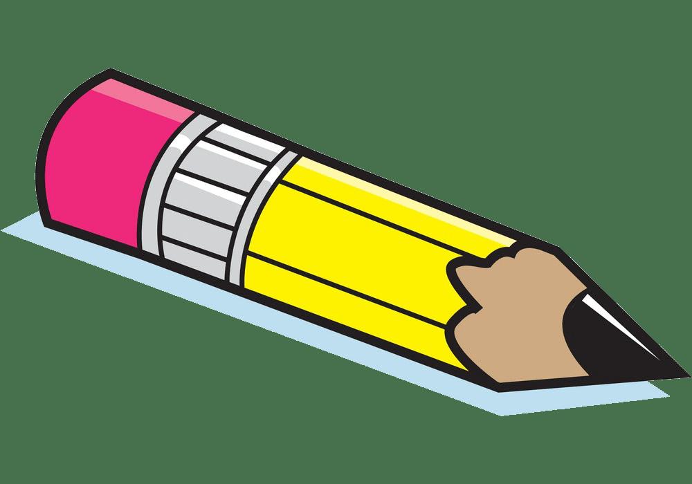 cartoon short pencil png transparent