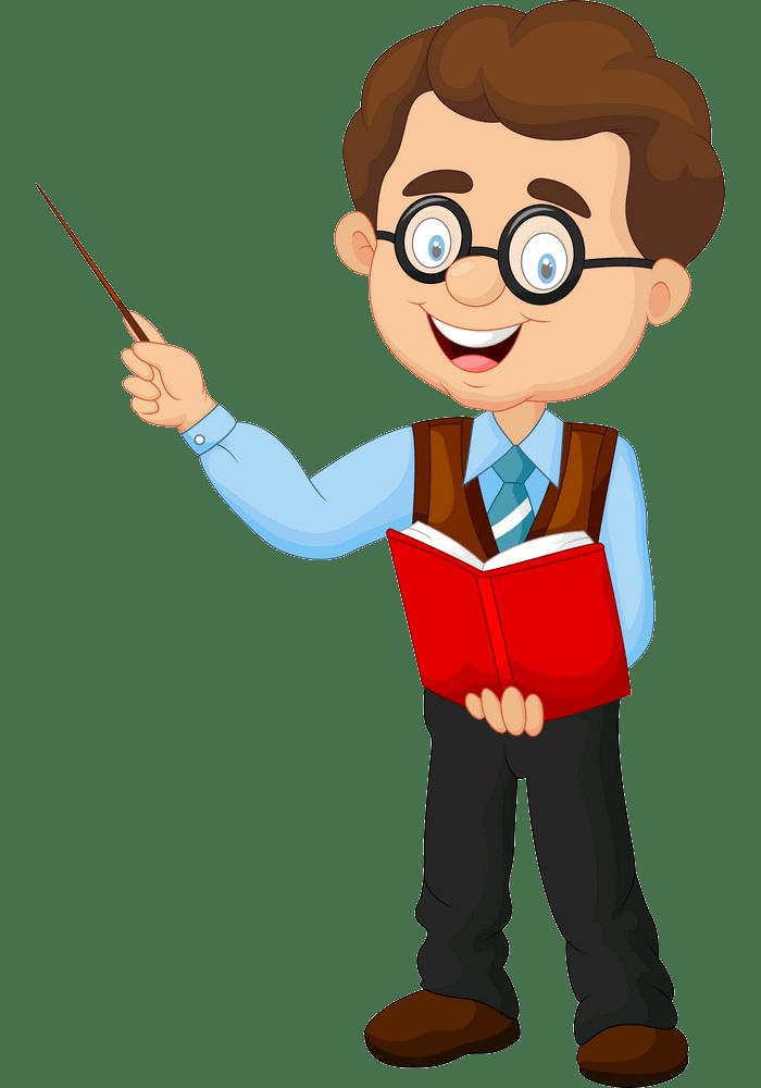 cartoon teacher png trasparent
