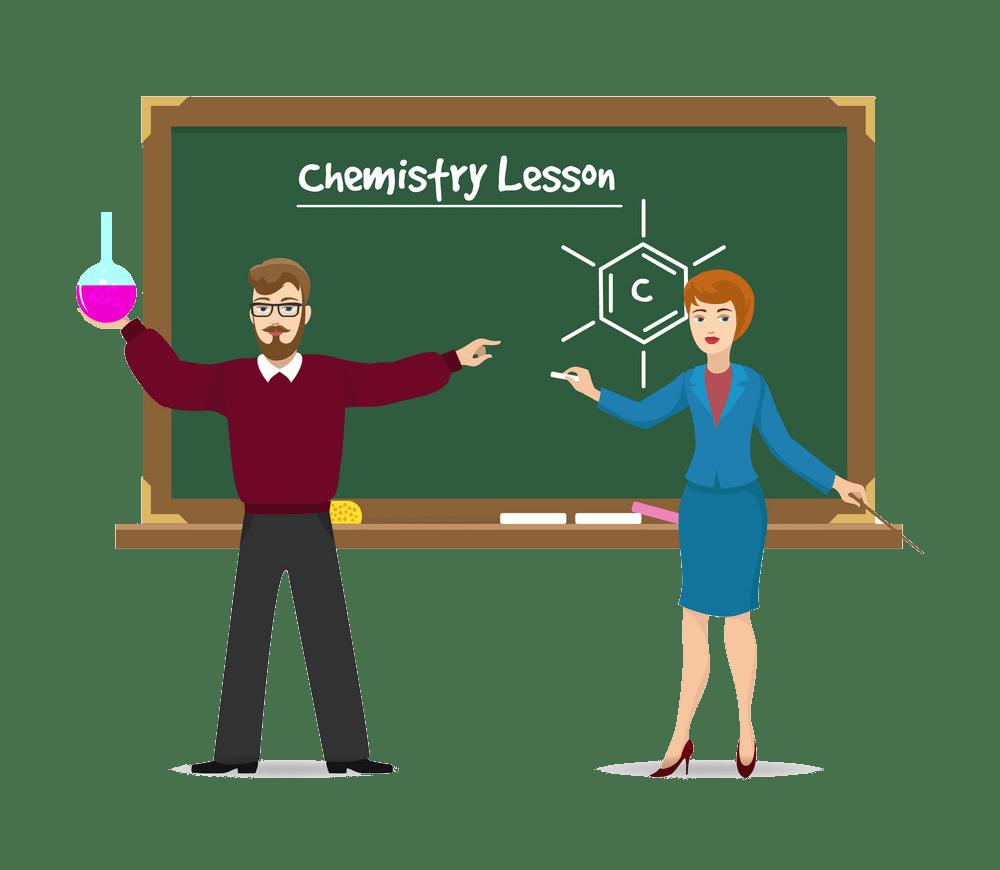 chemistry teachers png trasparent