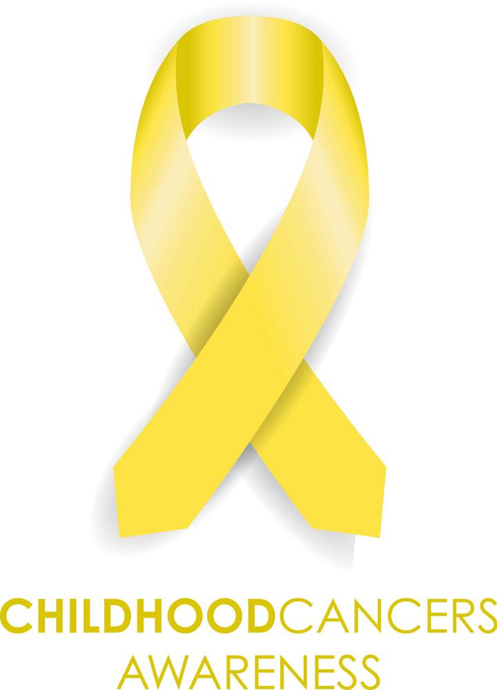 childhood cancer ribbon png