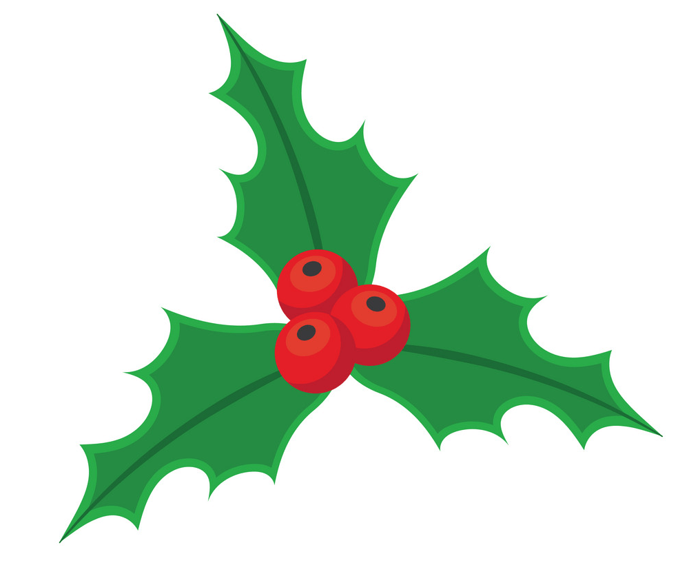 christmas holly icon png