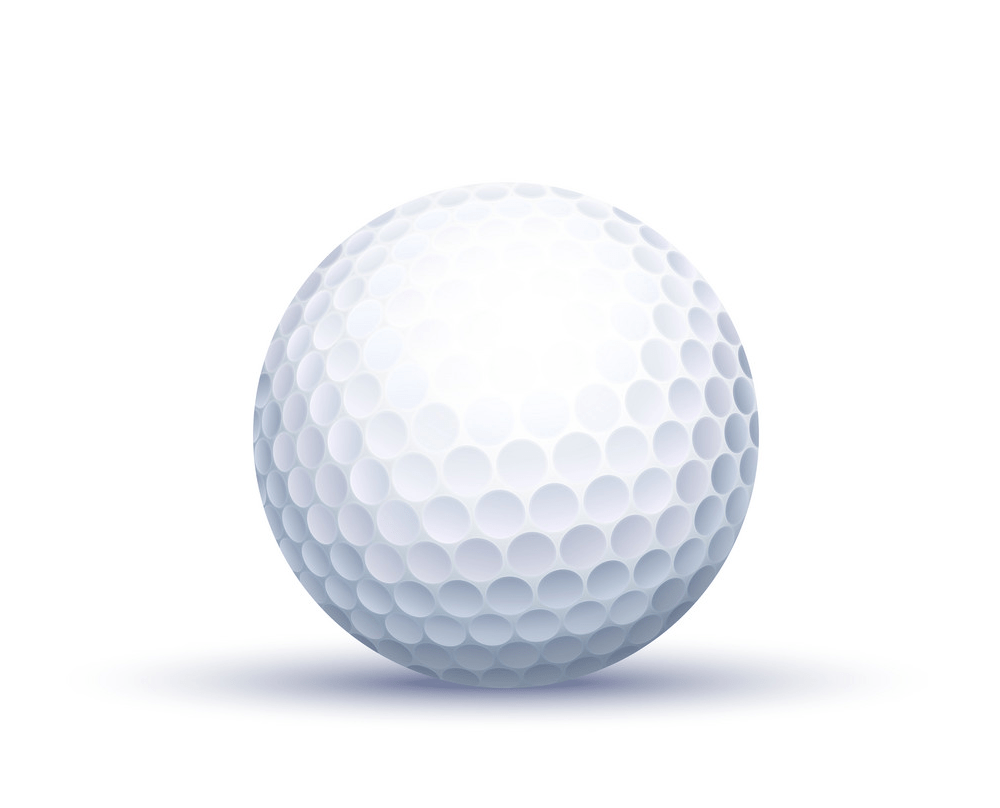 classic golf ball png