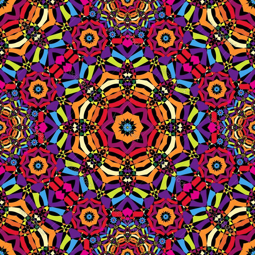 cool seamless kaleidoscope pattern png