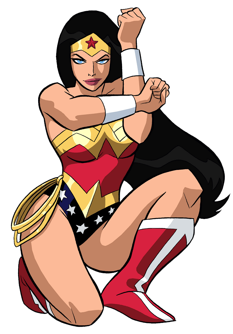 cool wonder woman transparent