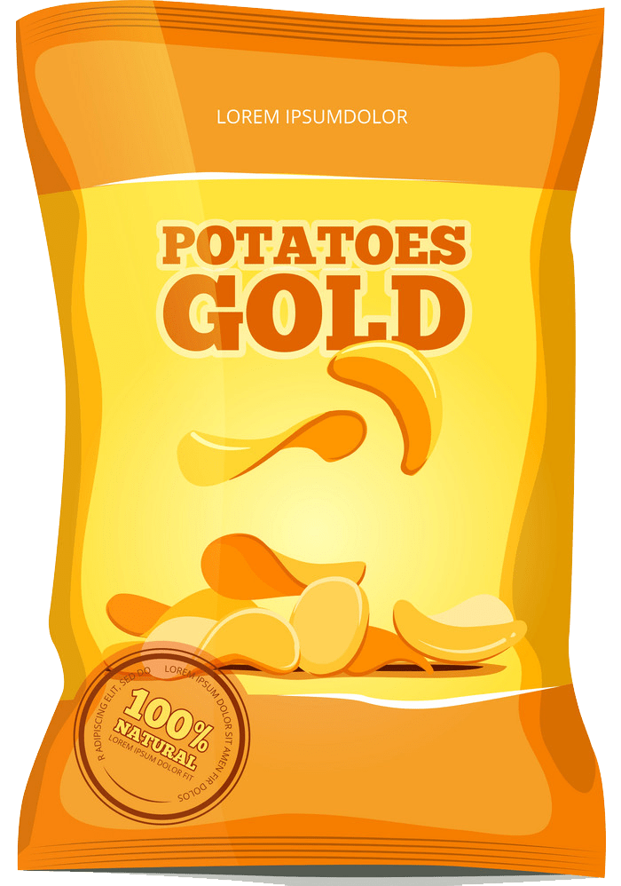 crisps potato chips snack transparent