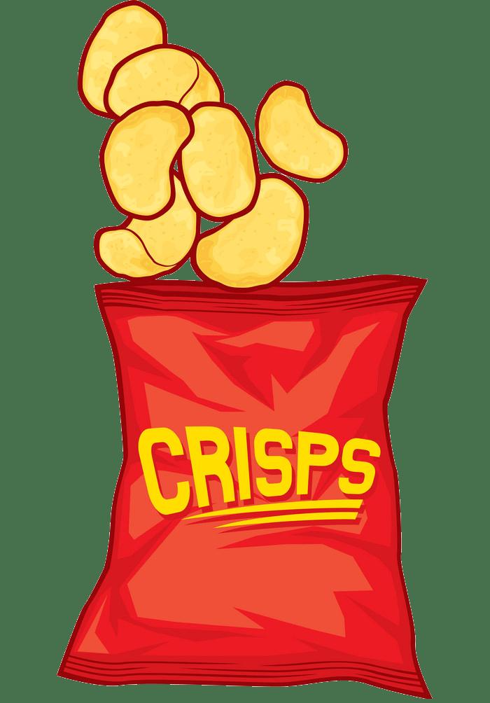 crisps snack transparent