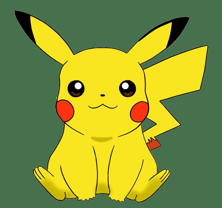 cute pikachu transparent