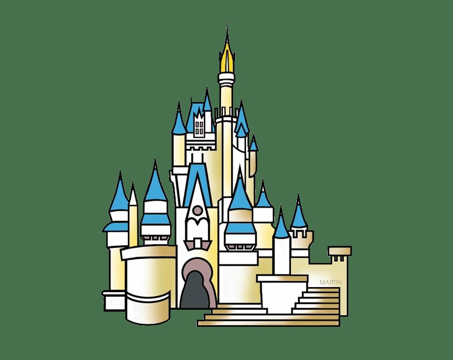 disney castle transparent